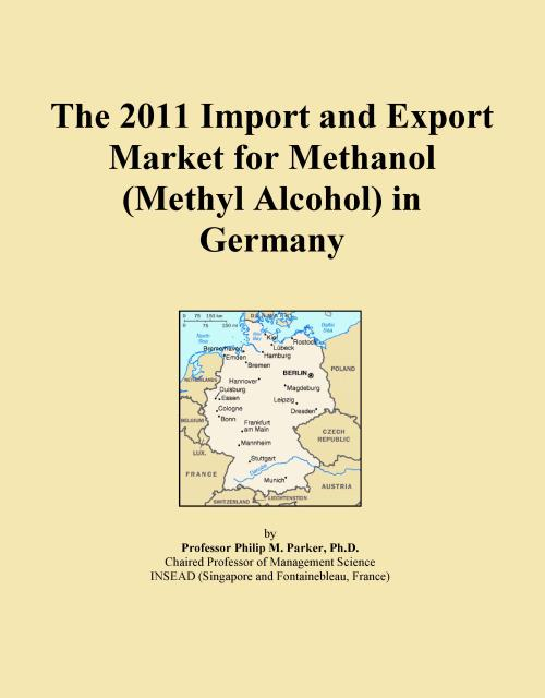 The 2011 Import and Export Market for Methanol (Methyl Alcohol) in Germany - Product Image