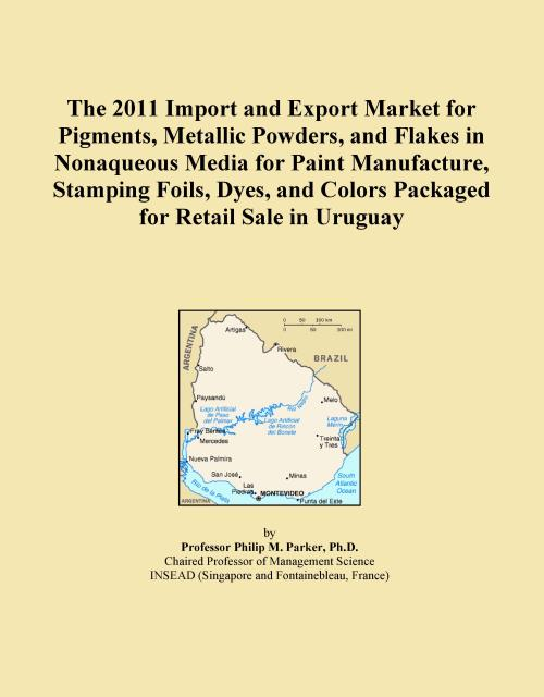 The 2011 Import and Export Market for Pigments, Metallic Powders, and Flakes in Nonaqueous Media for Paint Manufacture, Stamping Foils, Dyes, and Colors Packaged for Retail Sale in Uruguay - Product Image