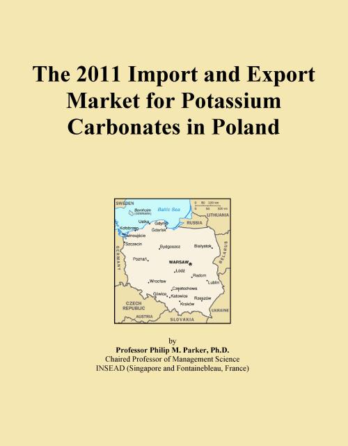 The 2011 Import and Export Market for Potassium Carbonates in Poland - Product Image