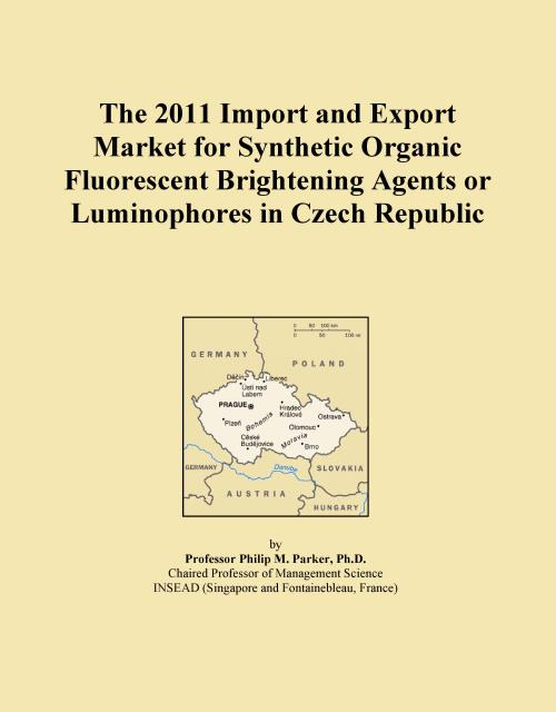 The 2011 Import and Export Market for Synthetic Organic Fluorescent Brightening Agents or Luminophores in Czech Republic - Product Image