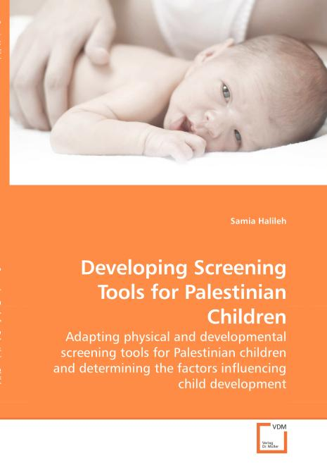 Developing Screening Tools for Palestinian Children. Edition No. 1 - Product Image