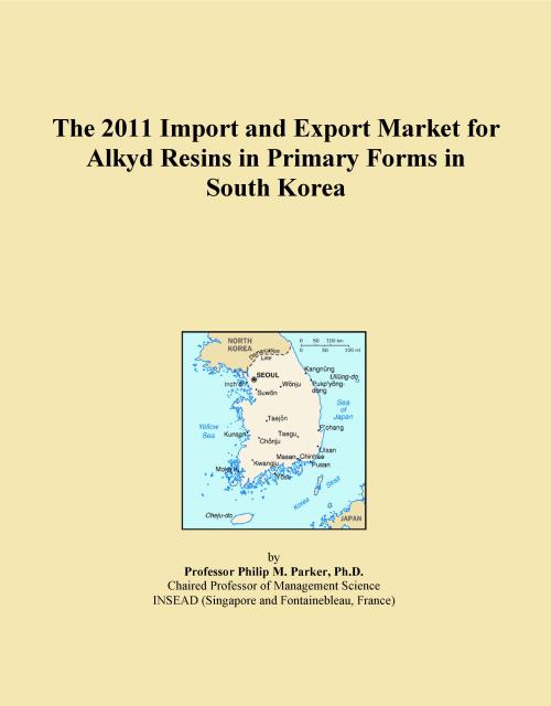 The 2011 Import and Export Market for Alkyd Resins in Primary Forms in South Korea - Product Image