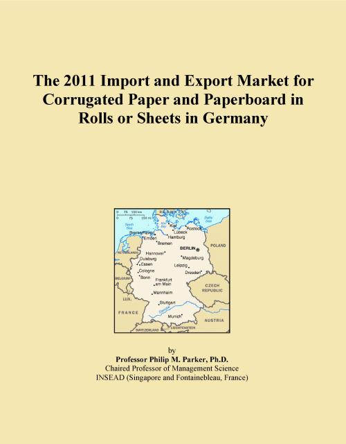 The 2011 Import and Export Market for Corrugated Paper and Paperboard in Rolls or Sheets in Germany - Product Image