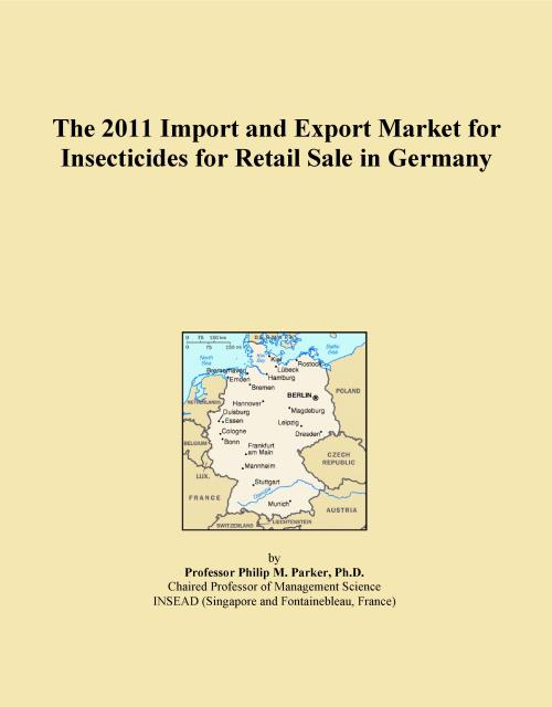 The 2011 Import and Export Market for Insecticides for Retail Sale in Germany - Product Image