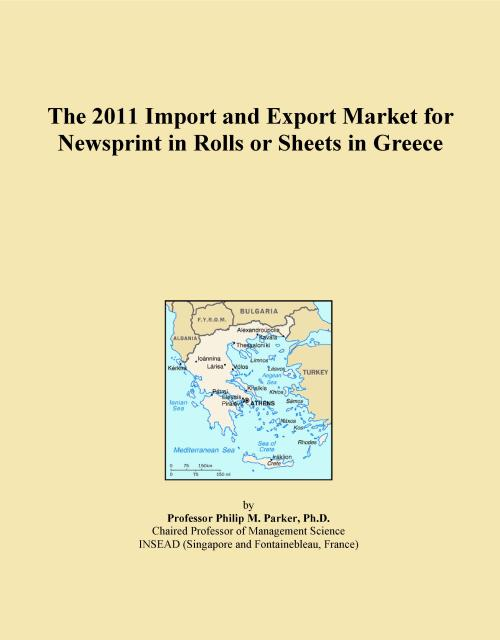 The 2011 Import and Export Market for Newsprint in Rolls or Sheets in Greece - Product Image