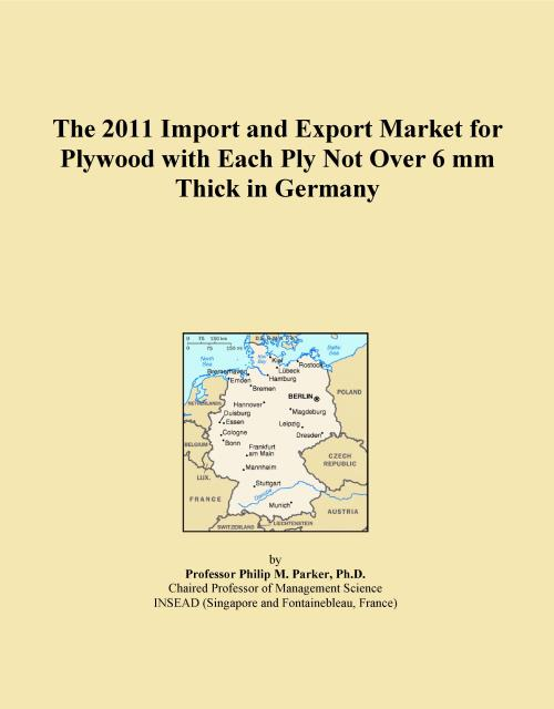 The 2011 Import and Export Market for Plywood with Each Ply Not Over 6 mm Thick in Germany - Product Image