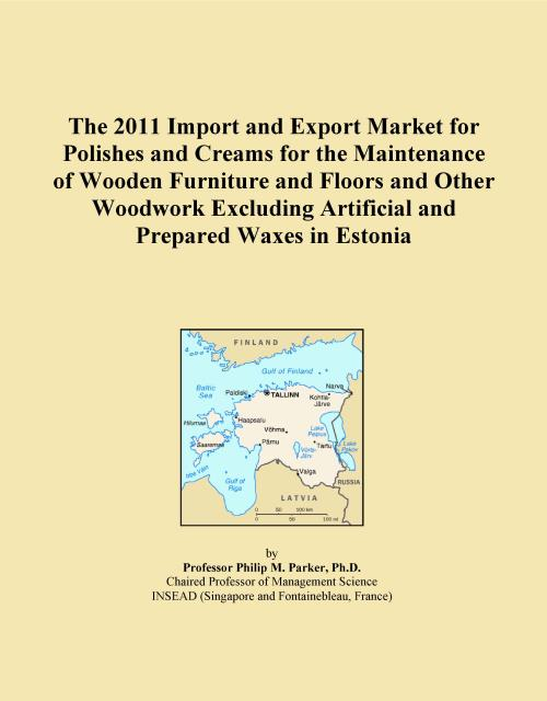 The 2011 Import and Export Market for Polishes and Creams for the Maintenance of Wooden Furniture and Floors and Other Woodwork Excluding Artificial and Prepared Waxes in Estonia - Product Image