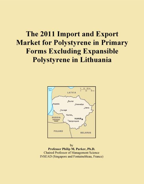 The 2011 Import and Export Market for Polystyrene in Primary Forms Excluding Expansible Polystyrene in Lithuania - Product Image