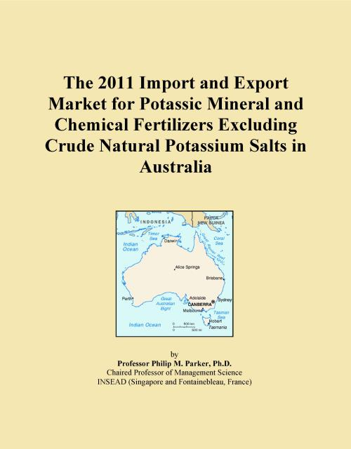 The 2011 Import and Export Market for Potassic Mineral and Chemical Fertilizers Excluding Crude Natural Potassium Salts in Australia - Product Image