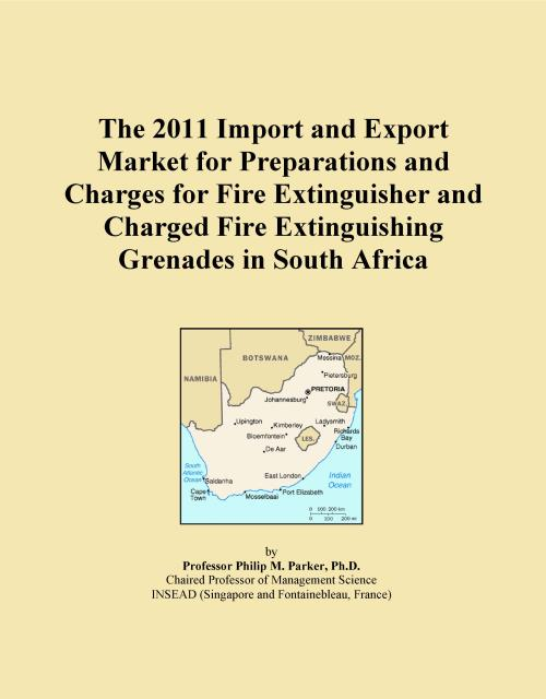 The 2011 Import and Export Market for Preparations and Charges for Fire Extinguisher and Charged Fire Extinguishing Grenades in South Africa - Product Image
