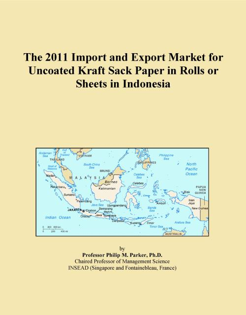 The 2011 Import and Export Market for Uncoated Kraft Sack Paper in Rolls or Sheets in Indonesia - Product Image