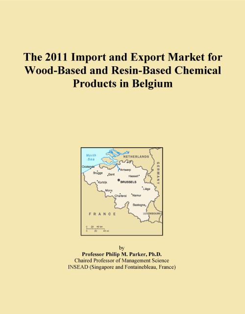 The 2011 Import and Export Market for Wood-Based and Resin-Based Chemical Products in Belgium - Product Image