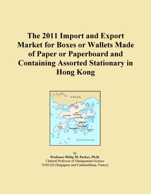 The 2011 Import and Export Market for Boxes or Wallets Made of Paper or Paperboard and Containing Assorted Stationary in Hong Kong - Product Image