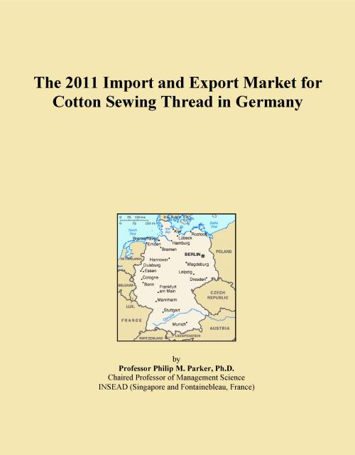 The 2011 Import and Export Market for Cotton Sewing Thread in Germany - Product Image
