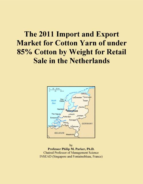 The 2011 Import and Export Market for Cotton Yarn of under 85% Cotton by Weight for Retail Sale in the Netherlands - Product Image