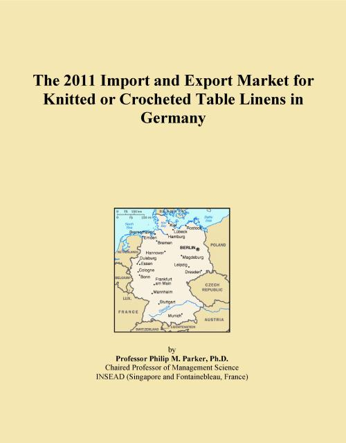 The 2011 Import and Export Market for Knitted or Crocheted Table Linens in Germany - Product Image