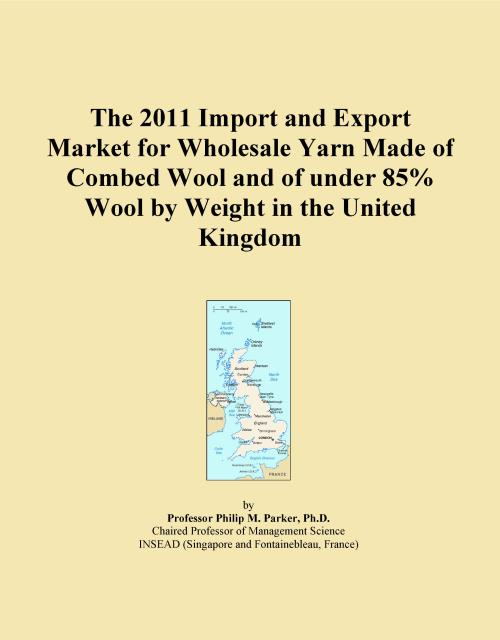 The 2011 Import and Export Market for Wholesale Yarn Made of Combed Wool and of under 85% Wool by Weight in the United Kingdom - Product Image