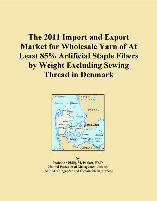 The 2011 Import and Export Market for Wholesale Yarn of At Least 85% Artificial Staple Fibers by Weight Excluding Sewing Thread in Denmark - Product Image