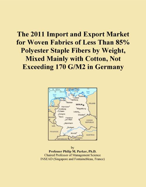 The 2011 Import and Export Market for Woven Fabrics of Less Than 85% Polyester Staple Fibers by Weight, Mixed Mainly with Cotton, Not Exceeding 170 G/M2 in Germany - Product Image
