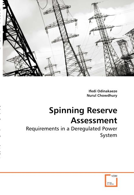 Spinning Reserve Assessment. Edition No. 1 - Product Image