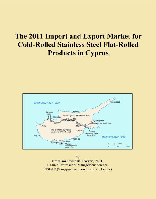The 2011 Import and Export Market for Cold-Rolled Stainless Steel Flat-Rolled Products in Cyprus - Product Image