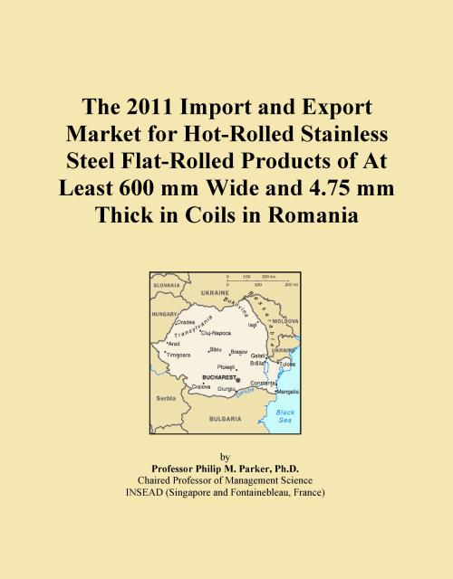 The 2011 Import and Export Market for Hot-Rolled Stainless Steel Flat-Rolled Products of At Least 600 mm Wide and 4.75 mm Thick in Coils in Romania - Product Image