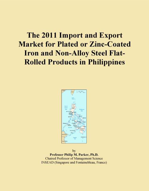 The 2011 Import and Export Market for Plated or Zinc-Coated Iron and Non-Alloy Steel Flat-Rolled Products in Philippines - Product Image