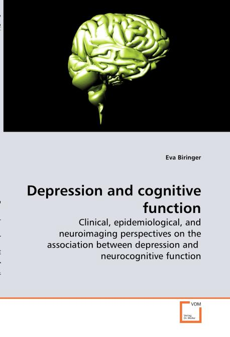 Depression and cognitive function. Edition No. 1 - Product Image
