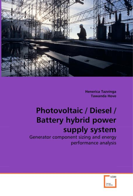 Photovoltaic / Diesel / Battery hybrid power supply system. Edition No. 1 - Product Image
