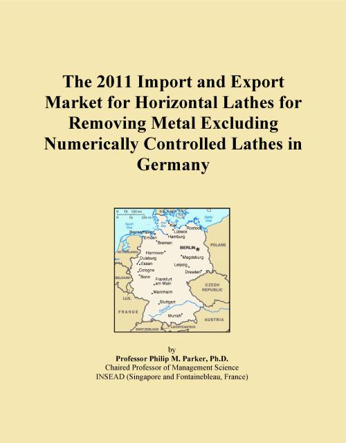 The 2011 Import and Export Market for Horizontal Lathes for Removing Metal Excluding Numerically Controlled Lathes in Germany - Product Image