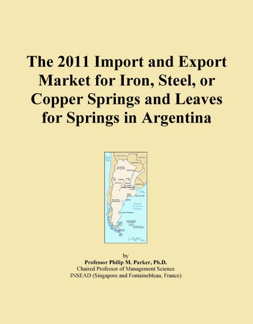 The 2011 Import and Export Market for Iron, Steel, or Copper Springs and Leaves for Springs in Argentina - Product Image