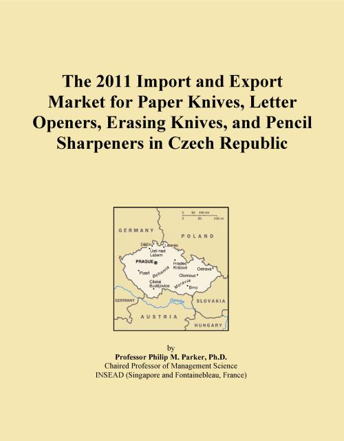 The 2011 Import and Export Market for Paper Knives, Letter Openers, Erasing Knives, and Pencil Sharpeners in Czech Republic - Product Image