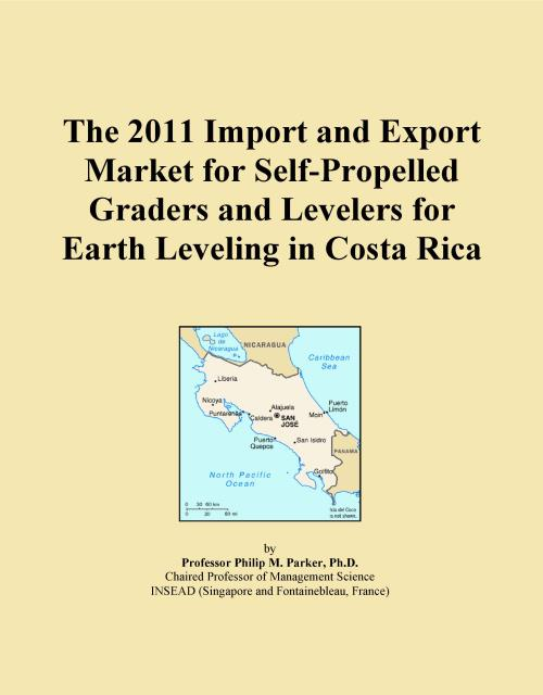 The 2011 Import and Export Market for Self-Propelled Graders and Levelers for Earth Leveling in Costa Rica - Product Image