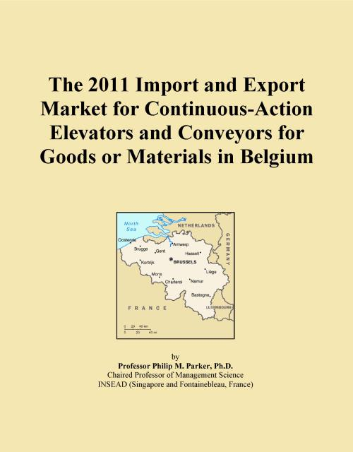 The 2011 Import and Export Market for Continuous-Action Elevators and Conveyors for Goods or Materials in Belgium - Product Image
