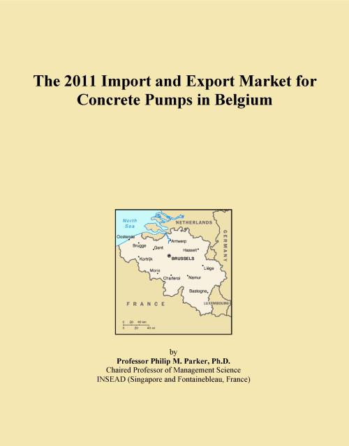The 2011 Import and Export Market for Concrete Pumps in Belgium - Product Image