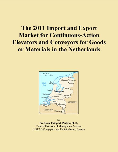 The 2011 Import and Export Market for Continuous-Action Elevators and Conveyors for Goods or Materials in the Netherlands - Product Image