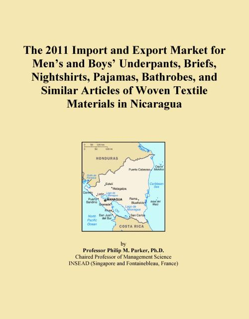 The 2011 Import and Export Market for Men's and Boys' Underpants, Briefs, Nightshirts, Pajamas, Bathrobes, and Similar Articles of Woven Textile Materials in Nicaragua - Product Image