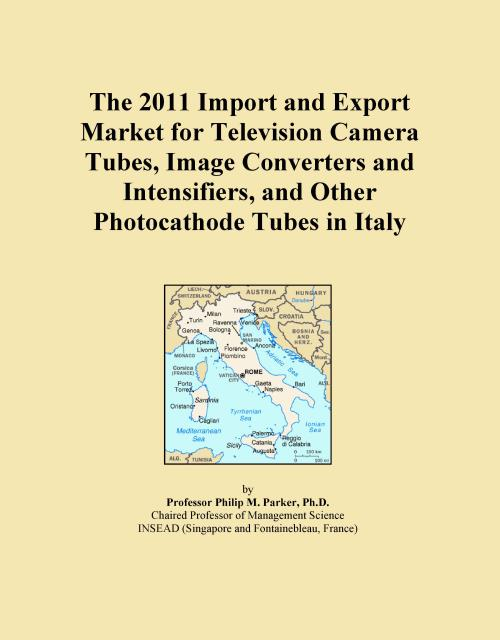 The 2011 Import and Export Market for Television Camera Tubes, Image Converters and Intensifiers, and Other Photocathode Tubes in Italy - Product Image
