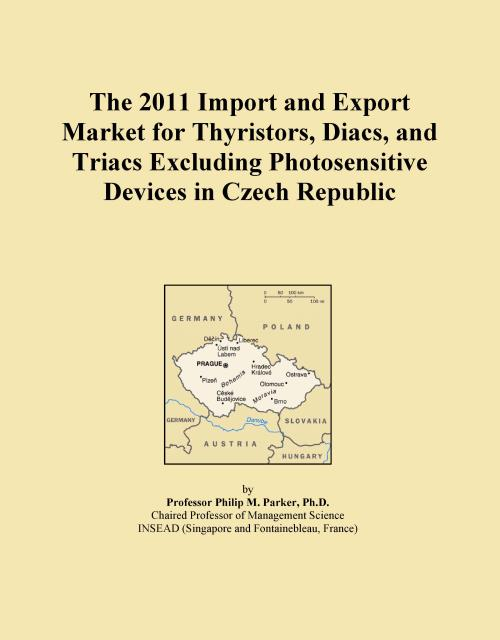 The 2011 Import and Export Market for Thyristors, Diacs, and Triacs Excluding Photosensitive Devices in Czech Republic - Product Image