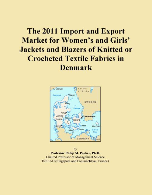 The 2011 Import and Export Market for Women's and Girls' Jackets and Blazers of Knitted or Crocheted Textile Fabrics in Denmark - Product Image