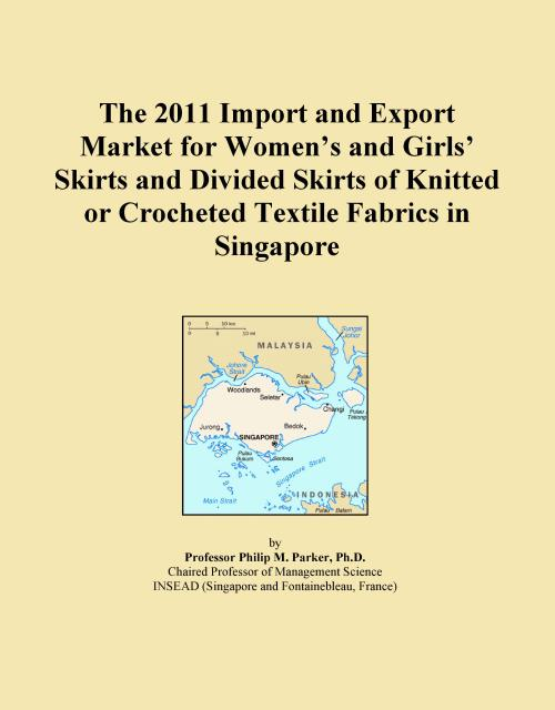 The 2011 Import and Export Market for Women's and Girls' Skirts and Divided Skirts of Knitted or Crocheted Textile Fabrics in Singapore - Product Image