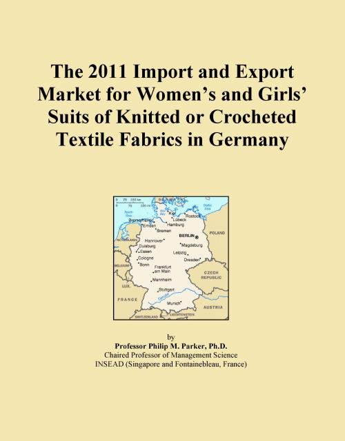 The 2011 Import and Export Market for Women's and Girls' Suits of Knitted or Crocheted Textile Fabrics in Germany - Product Image