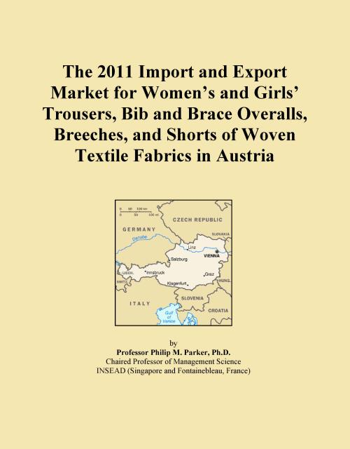 The 2011 Import and Export Market for Women's and Girls' Trousers, Bib and Brace Overalls, Breeches, and Shorts of Woven Textile Fabrics in Austria - Product Image