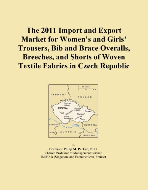 The 2011 Import and Export Market for Women's and Girls' Trousers, Bib and Brace Overalls, Breeches, and Shorts of Woven Textile Fabrics in Czech Republic - Product Image