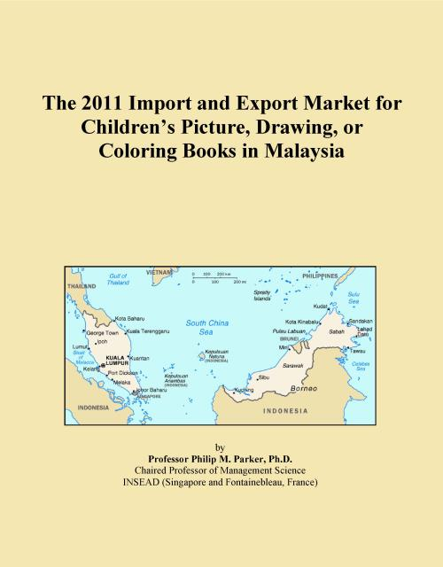 The 2011 Import and Export Market for Children's Picture, Drawing, or Coloring Books in Malaysia - Product Image