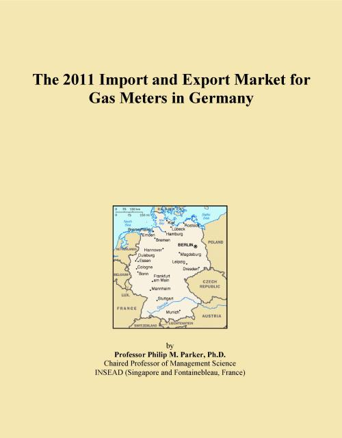 The 2011 Import and Export Market for Gas Meters in Germany - Product Image