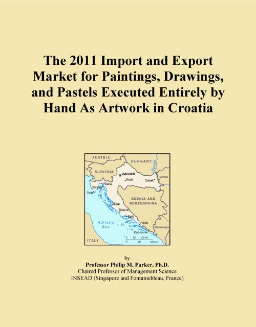 The 2011 Import and Export Market for Paintings, Drawings, and Pastels Executed Entirely by Hand As Artwork in Croatia - Product Image