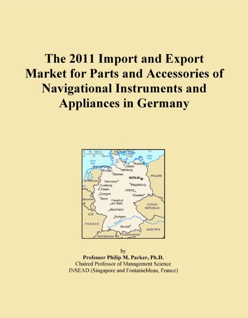 The 2011 Import and Export Market for Parts and Accessories of Navigational Instruments and Appliances in Germany - Product Image