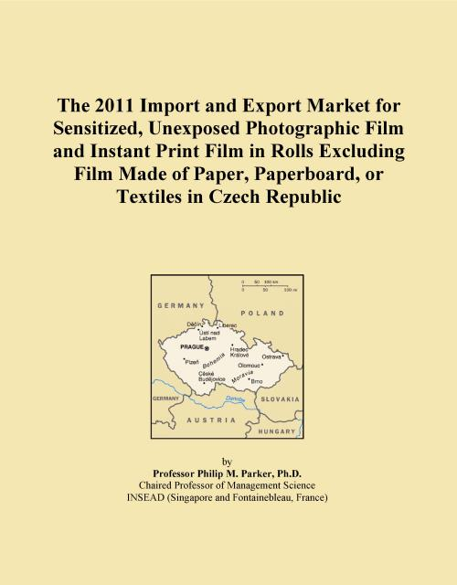 The 2011 Import and Export Market for Sensitized, Unexposed Photographic Film and Instant Print Film in Rolls Excluding Film Made of Paper, Paperboard, or Textiles in Czech Republic - Product Image