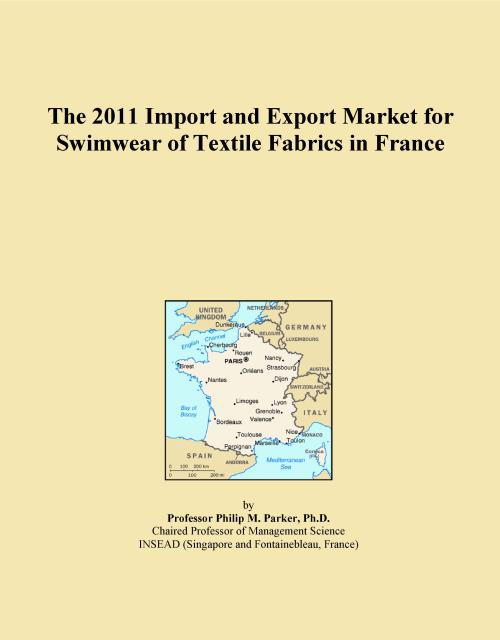 The 2011 Import and Export Market for Swimwear of Textile Fabrics in France - Product Image